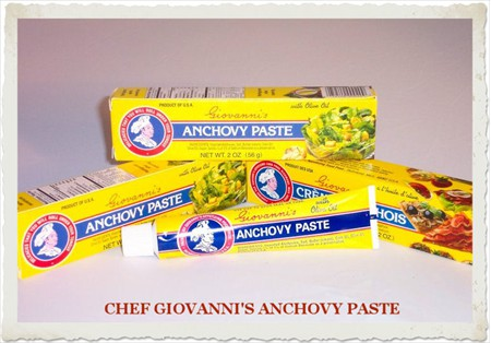 CHEF GIOVANNI'S ANCHOVY PASTE