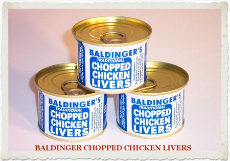 BALDINGER CHOPPED CHICKEN LIVERS