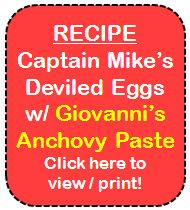 Captain Mike's Deviled Eggs Recipe